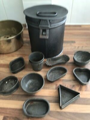 Early 19th Century Tin Tole ware Jelly Sweet Biscuit Tins Etc.