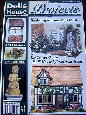 Dolls House Projects Magazines X 4