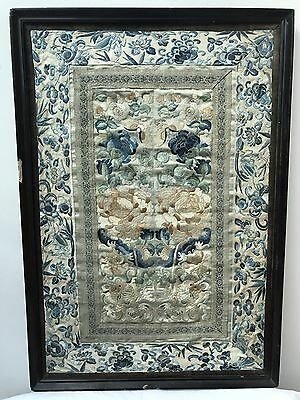 Beautiful Old Embroidered Picture