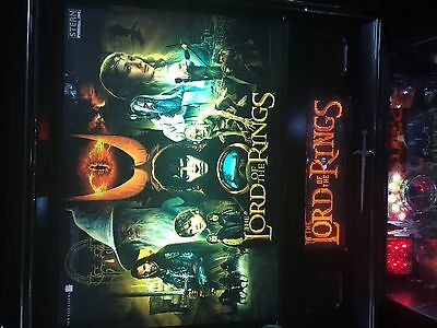 Pinball Machine The Lord Of The Rings