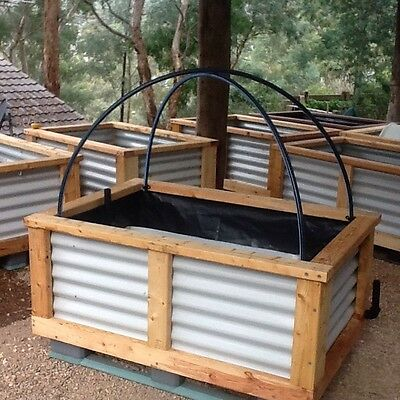 2 x Planter box, Garden bed, Self watering, Wicking system, Free delivery MEL.