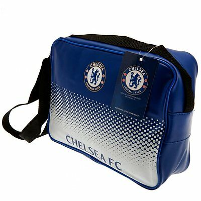 Chelsea FC FADE DESIGN MESSENGER LUNCH BAG BOX OFFICE NEW GIFT XMAS