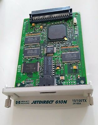 HP JetDirect 610n RJ45 Ethernet Print Server (J4169A)