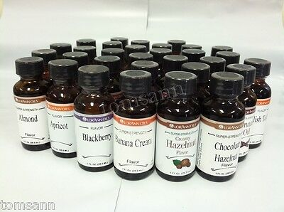LorAnn Super Strength Flavoring 1oz YOU PICK FLAVOR M-Z candy cake icing baking
