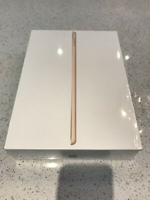 Apple iPad Wi-Fi 32GB Gold Brand New And Sealed MPGT2B/A (2017) 9.7""