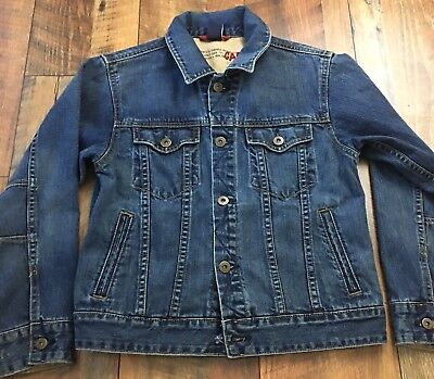 Gap Kids Boys Denim Jean Jacket Sz Large 10 Cotton Casual