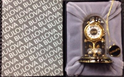 Bulova Limited Edition B0546: Magdalette Miniature Collectable  New In Box