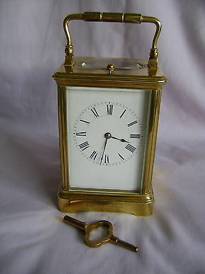 Antique 1890 Stunning Rare Henri Jacot Repeater Carriage Clock + Key Gwo
