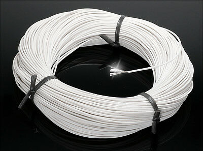 100m Silberkabel versilberte Kupferlitze silver coated cable for tube preamp ...