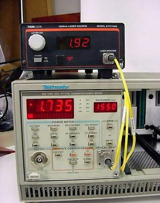 Tektronix OCP5002   2 GHz Fiber Optical Converter & Power Meter