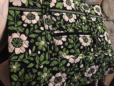 "Vera Bradley ""VERA"" Tote - Lucky You - X Large - NWT"