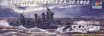 USS New Orleans CA-32 1942