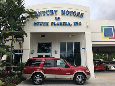 2008 Ford Expedition  NIADA CERTIFIED WARRANTY ONE OWNER FLORIDA LOW MILES NON SMOKERS