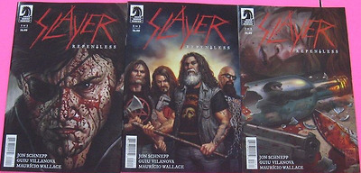 Slayer Repentless Issues #1 2 3 Full Set Dark Horse Comics NEW Bagged & Boarded