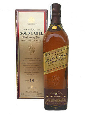 JOHNNIE WALKER GOLD LABEL CENTENARY BLEND EDITION (BOXED) · (70cl, 40%)