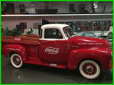1954 Chevrolet Other 54 Chevy Truck 1954 Chevrolet 3100 Custom Coca-Cola Truck