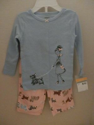 Carter's 2-Piece Long Sleeve Fleece Sleepwear Pajama Set - Size 12 Months - NWT