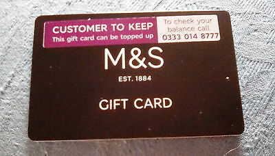 £125 Marks And Spencer Gift Card