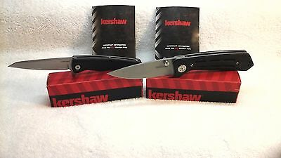 Lot 2 New Kershaw Knives Injection 3830 3.5 & Hotwire 1310 Assisted knife buck