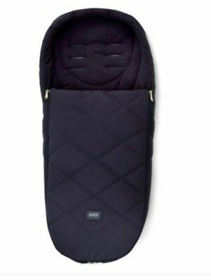 Mamas And & Papas Cold Weather Plus Footmuff Cosy Toes Twilight Gold Dark Navy