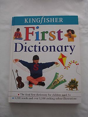 Kingfisher First Dictionary with Pictures