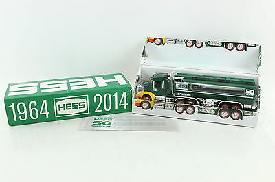 Hess 1964 - 2014 50th Anniversary Collector's Edition Toy Gasoline Truck NIOB
