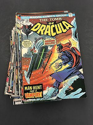 Tomb Of Dracula Lot 20-70 Complete Bronze Age All Vf Or Better