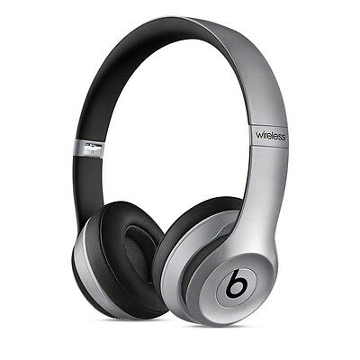 2017 Beats by Dre Solo 2 WIRELESS BLUETOOTH HEADPHONES - SPACE GREY Brand New