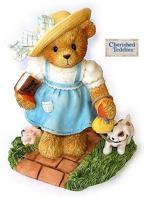 CHERISHED TEDDIES SUNNY, 789674, DAYS OF WEEK - SUNDAY, 2001, NEW in BOX, PAPERS