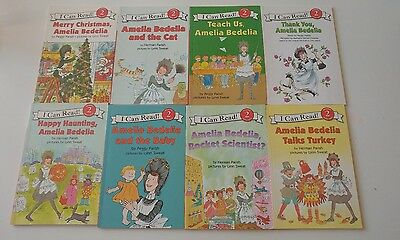 Lot of 8 Level 2 Amelia Bedelia Reader books - Learn to Read as pictured