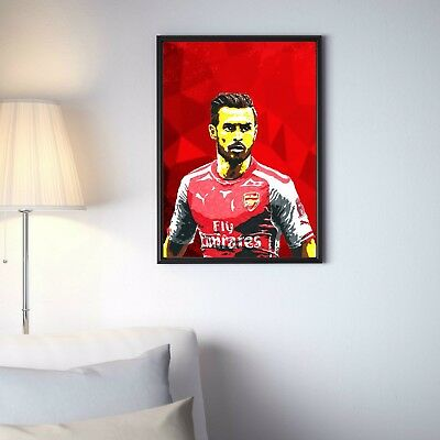 Aaron Ramsey Arsenal Football Club Premier League Limited Print