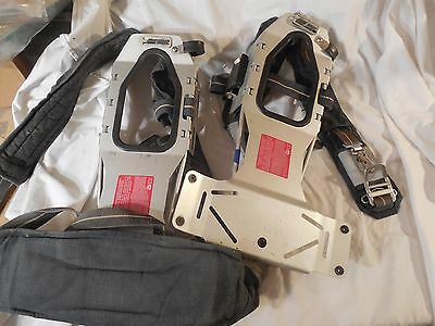 2 clean used Scott 4.5 Air-Pak Back Pack Assembly frames...see pictures..TWO!
