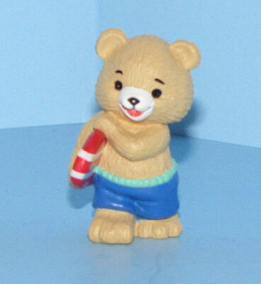 Hallmark Merry Miniatures 1993 Surfing Bear Beach Summer Mini