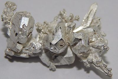 3.15 Grams of .999 crystalline silver crystal nugget 99.999% pure