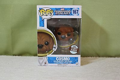 Funko Pop! Disney Marvel Guardians The Galaxy Cosmo Specialty *Small Box Issue*