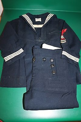 Vintage Child's Navy Uniform Size 2 label Jack Horner