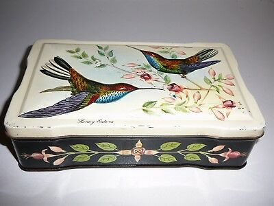 """A. W. Allen """"Honey Eaters"""" Tin Chocolates Toffees Confectionery Advertising"""