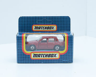 Matchbox MB-62 VOLVO 760 Red Sedan, in Excellent Condition, 2232