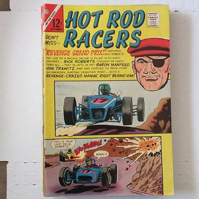 Hot Rod Racers (Charlton) 10 VG/FN  SKU17377 25% Off!