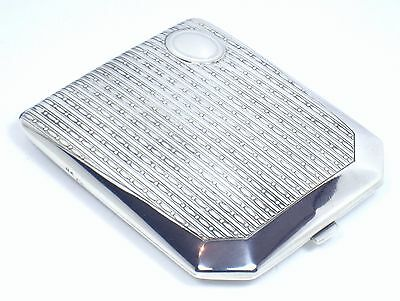 Cigarette case EXCEPTIONAL, rare and very beautiful solid silver