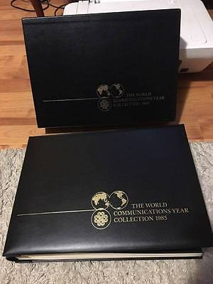 1983 The World Communications Year Collection Full & Complete Set MUH RARE
