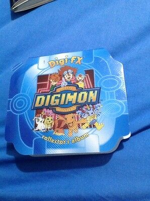 "DIGIMON ""Digi FX"" Collector's Album - No Cards"