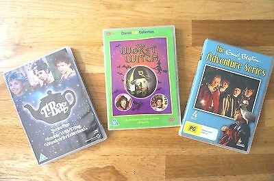 Kids Classics DVD BUNDLE: T-Bag, The Worst Witch & The Adventure Series
