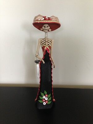 """Catarina Mexican Day Of The Dead Doll 13"""""""