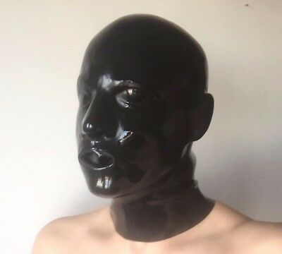 Platex Latex Anatomical Rubber Gummi Hood Mask with Chlorination NEW RRP £200