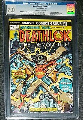 Astonishing Tales #25 1st appearance Deathlok Rick Buckler CGC Marvel Comics