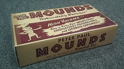 Vintage Advertising 1956 Peter Paul Mounds Box Wrapped