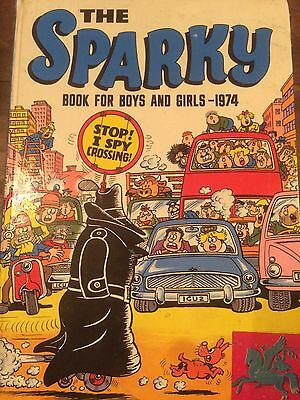 Sparky Annual 1974 Fair Condition Check Out All Other Annuals For Sale