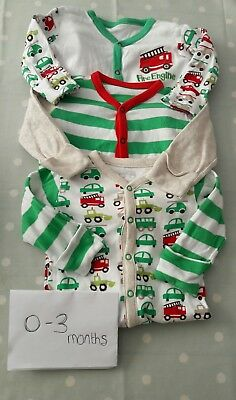 boys 0-3 months sleepsuits mothercare
