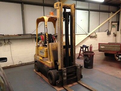 Hyster S50C Forklift Truck Working 2.5 ton lift LPG